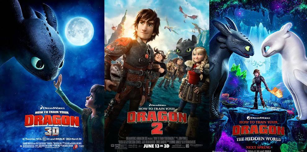 Saga Como Entrenar A Tu Dragón Mejores Películas Netflix El Rincón De Netflix
