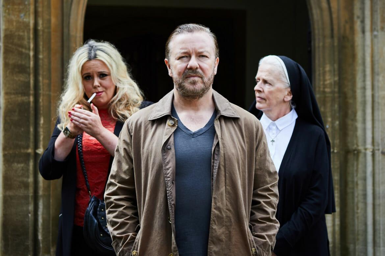 Ricky Gervais ha renovado finalmente con Netflix y se confirma la nueva temporada de After Life