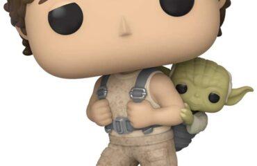 Funko Pop de Luke y Yoda